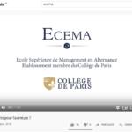 Flows Communication création d'une vidéo promotionnelle pour ECEMA