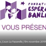 Montage vidéo Cours La Passerelle par Flows Communication